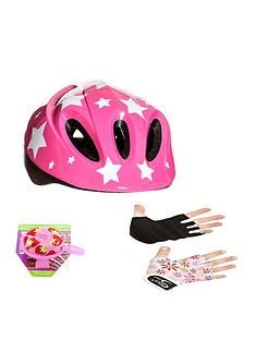 Sport Direct Sport Direct Pink Kids Bicycle Safety Set Best Price, Cheapest Prices