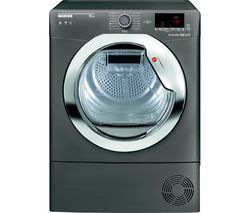 HOOVER Dynamic Next DX C10DCER NFC 10 kg Condenser Tumble Dryer - Graphite Best Price, Cheapest Prices