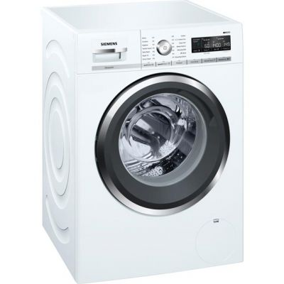 Siemens IQ-500 WM14W5H0GB Wifi Connected 9Kg Washing Machine with 1400 rpm - White - A+++ Rated Best Price, Cheapest Prices