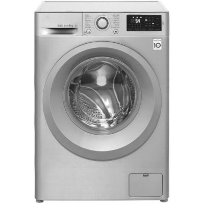 LG F4J5TN7S 8Kg Washing Machine with 1400 rpm - Steel - A+++ Rated Best Price, Cheapest Prices