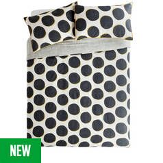 Argos Home Spot Printed Bedding Set - Double Best Price, Cheapest Prices