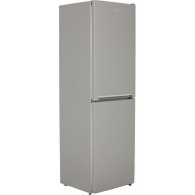 Beko CFG1582S 50/50 Frost Free Fridge Freezer - Silver - A+ Rated Best Price, Cheapest Prices
