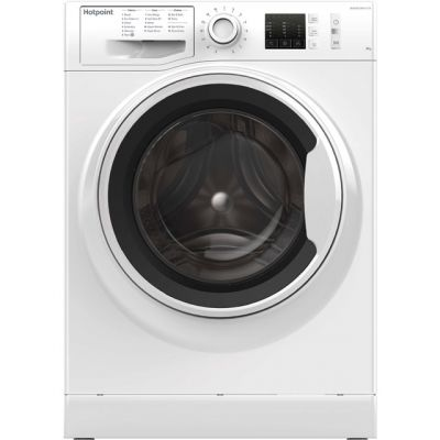 Hotpoint NM10844WWUK 8Kg Washing Machine with 1400 rpm - White - A+++ Rated Best Price, Cheapest Prices