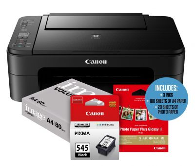 Canon PIXMA TS3150 Student Essentials Printer Bundle Best Price, Cheapest Prices