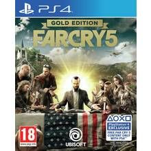 Far Cry 5 Gold Edition PS4 Game Best Price, Cheapest Prices