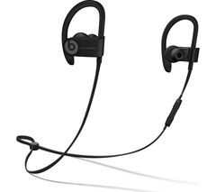 BEATS Powerbeats3 Wireless Bluetooth Headphones - Black Best Price, Cheapest Prices