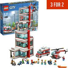 LEGO City Hospital - 60204 Best Price, Cheapest Prices