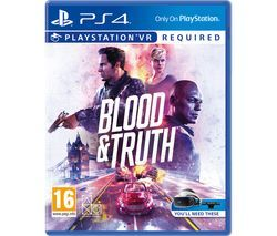 PS4 Blood & Truth VR Best Price, Cheapest Prices