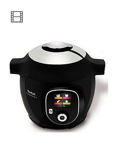 Tefal Cook4Me+ CY851840 Electric Pressure Cooker - 6L / Black Best Price, Cheapest Prices