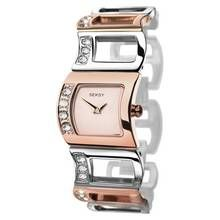 Seksy Ladies' Rose Gold Plated Two Tone Watch Best Price, Cheapest Prices