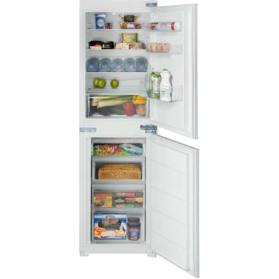 Belling B50509FF Integrated 50/50 Frost Free Fridge Freezer with Sliding Door Fixing Kit - White - A+ Rated Best Price, Cheapest Prices