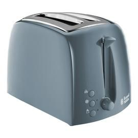 Russell Hobbs 21644 Textures 2 Slice Toaster - Grey Best Price, Cheapest Prices