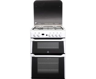 Indesit Advance ID60G2W Gas Cooker - White - A+ Rated Best Price, Cheapest Prices