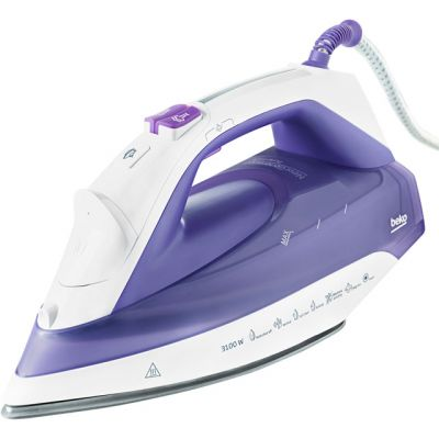 Beko SPA7131P 3100 Watt Iron -Purple Best Price, Cheapest Prices