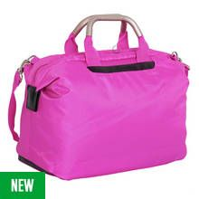 IT Luggage World's Lightest Soft Small Cabin Holdall - Pink