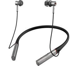 1MORE Dual Driver BT ANC Wireless Bluetooth Noise-Cancelling Earphones - Silver Best Price, Cheapest Prices