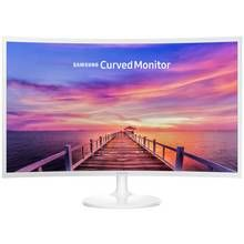 Samsung C32F391 32 Inch 60Hz FHD Curved LED Monitor - White Best Price, Cheapest Prices