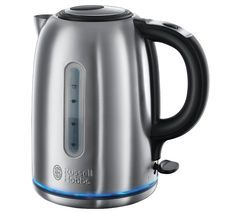 RUSSELL HOBBS Buckingham 20460 Jug Kettle - Stainless Steel Best Price, Cheapest Prices