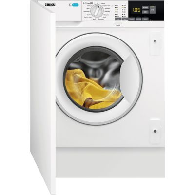 Zanussi Z814W85BI Integrated 8Kg Washing Machine with 1400 rpm - A+++ Rated Best Price, Cheapest Prices