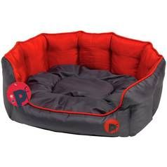 Petface Oxford Red Dog Bed - Small Best Price, Cheapest Prices