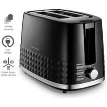 Morphy Richards 220021 Dimensions 2 Slice Toaster - Black Best Price, Cheapest Prices