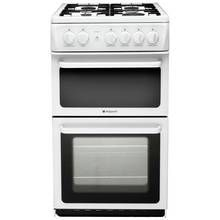 Hotpoint HAG51P Gas Cooker - White Best Price, Cheapest Prices