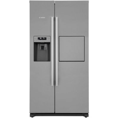 Bosch Serie 6 KAG90AI20G American Fridge Freezer - Stainless Steel Effect - A+ Rated Best Price, Cheapest Prices