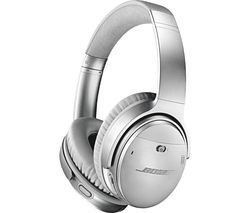 BOSE QuietComfort QC35 II Wireless Bluetooth Noise-Cancelling Headphones - Silver Best Price, Cheapest Prices
