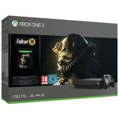 Xbox One X 1TB Console & Fallout 76 Bundle Best Price, Cheapest Prices