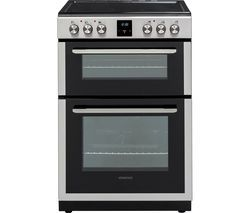 KENWOOD KDC66SS19 60 cm Electric Ceramic Cooker - Silver Best Price, Cheapest Prices