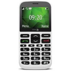 SIM Free Doro 1370 Mobile Phone - White Best Price, Cheapest Prices