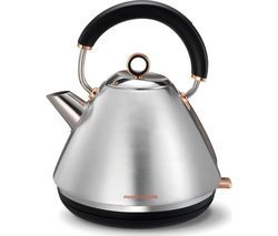MORPHY RICHARDS Accents 102105 Traditional Kettle - Brushed Stainless Steel & Rose Gold Best Price, Cheapest Prices