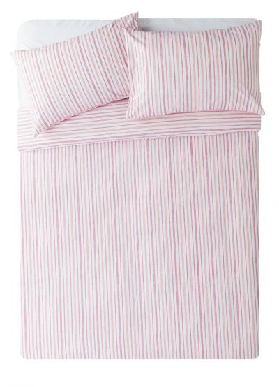 Argos Home Striped Bedding Set - Double Best Price, Cheapest Prices