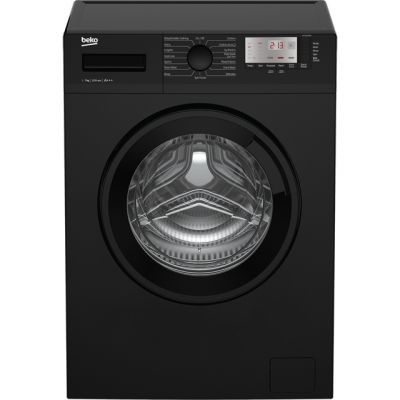 Beko WTG721M1B 7Kg Washing Machine with 1200 rpm - Black - A+++ Rated Best Price, Cheapest Prices
