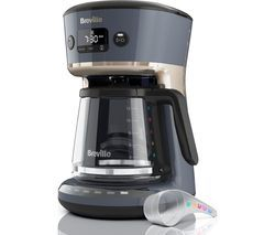 BREVILLE Mostra Easy Measure VCF114 Filter Coffee Machine - Grey Best Price, Cheapest Prices