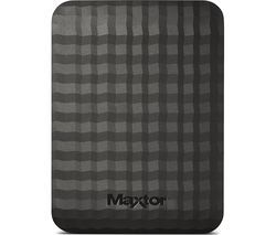 MAXTOR M3 Portable Hard Drive - 500 GB, Black Best Price, Cheapest Prices