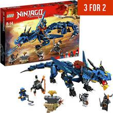 LEGO Ninjago Stormbringer Action Figure Dragon Toy - 70652 Best Price, Cheapest Prices