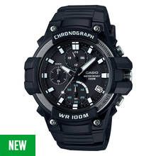 Casio Men's Black Resin Strap Chronograph Sport Watch Best Price, Cheapest Prices