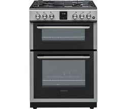 KENWOOD KTG606S19 60 cm Gas Cooker - Silver Best Price, Cheapest Prices