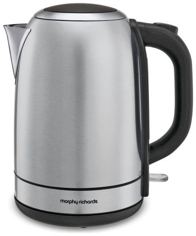 Morphy Richards 102779 Equip Kettle - Stainless Steel Best Price, Cheapest Prices