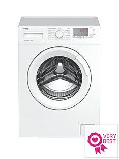 Beko WTG941B1W 9kg Load, 1400 Spin Washing Machine - White Best Price, Cheapest Prices