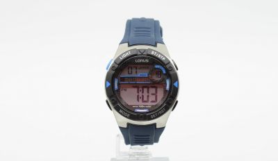 Lorus Men's Blue Silicone Strap Watch Best Price, Cheapest Prices