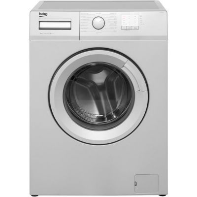 Beko WTG820M1S 8Kg Washing Machine with 1200 rpm - Silver - A+++ Rated Best Price, Cheapest Prices