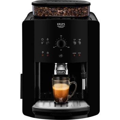Krups Arabica Manual EA811040 Bean to Cup Coffee Machine - Black Best Price, Cheapest Prices