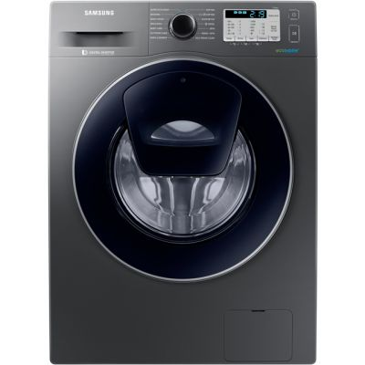 Samsung AddWash™ ecobubble™ WW80K5413UX 8Kg Washing Machine with 1400 rpm - Graphite - A+++ Rated Best Price, Cheapest Prices