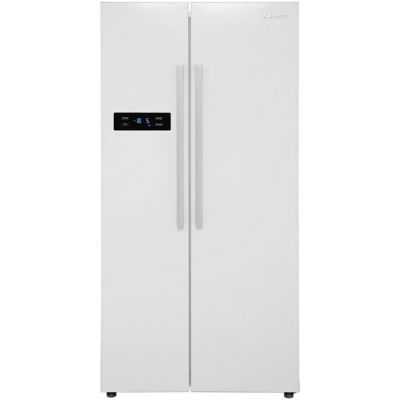 Lec AFF90185W American Fridge Freezer - White - A+ Rated Best Price, Cheapest Prices