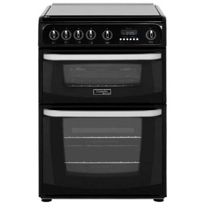 Cannon by Hotpoint CH60GCIK 60cm Gas Cooker with Variable Gas Grill - Black Best Price, Cheapest Prices