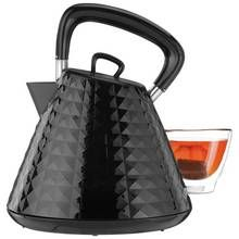 Cookworks Textured Kettle - Black Best Price, Cheapest Prices