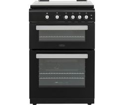 BELLING FSG608Dc 60 cm Dual Fuel Cooker - Black Best Price, Cheapest Prices