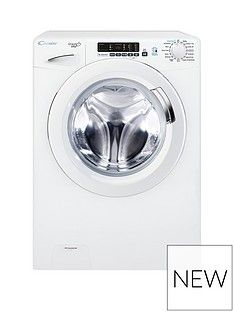 Candy Grand'OVita GVS169D3 9kg Load, 1600 Spin Washing Machine with Smart Touch - White Best Price, Cheapest Prices
